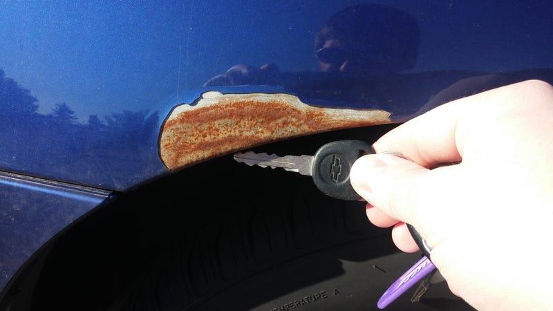 Car Paint Bubbling And Peeling Repair