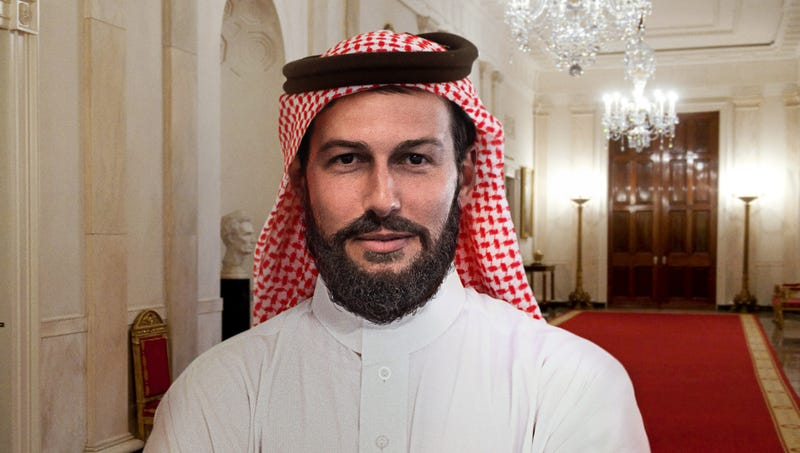 Illustration for article titled Bearded, Keffiyeh-Clad Jared Kushner Avoids Conflict Of Interest By Joining Saudi Royal Family