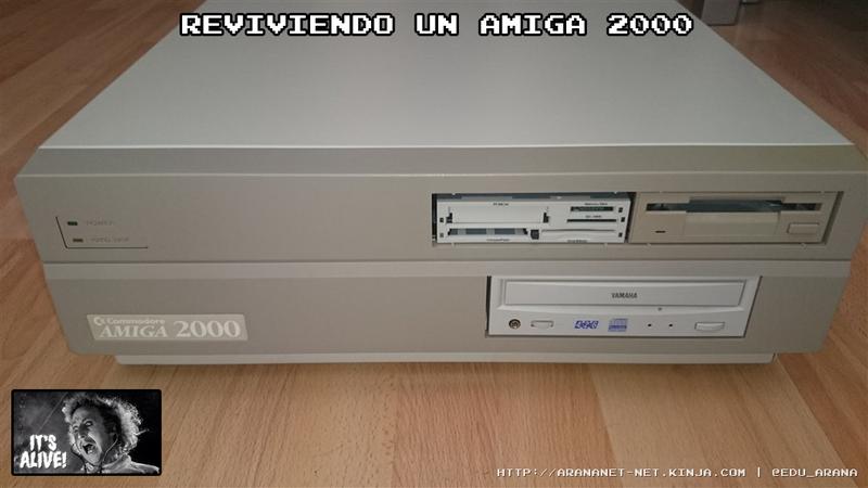 Illustration for article titled Reviviendo un Amiga 2000
