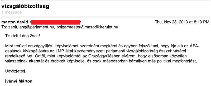 Illustration for article titled ÁFA-csalás: Van értelme országgyűlési képviselőinknek írni?