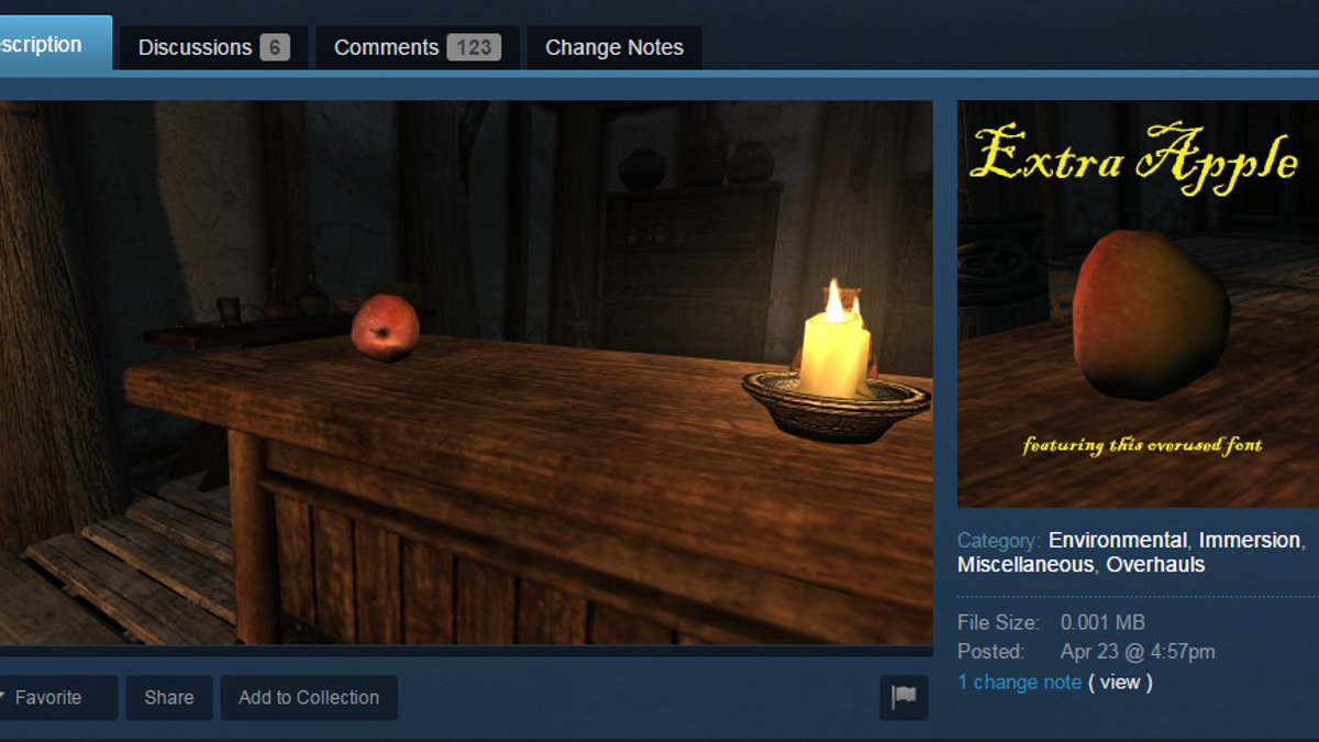 The Most Ridiculous Skyrim Mods People Are Trying To Sell On Steam