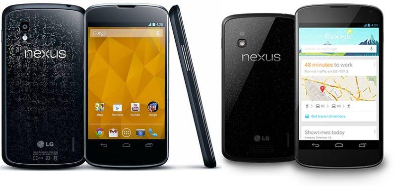 Google rebaja el precio del móvil Nexus 4 a 199 euros/dólares