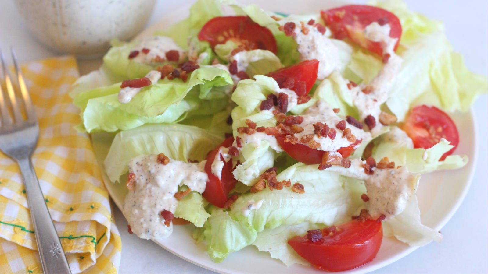 Transform Any Creamy Dressing With Burnt Onion