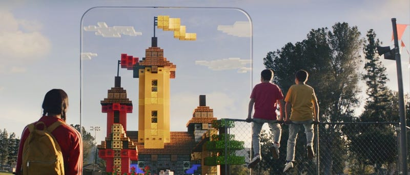 Illustration for article titled Microsoft Announces Minecraft Earth, A Minecraft Version Of Pokémon Go