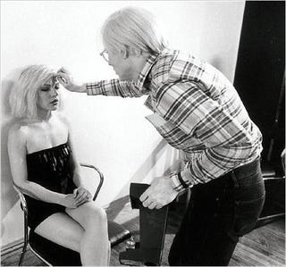 Illustration for article titled Debbie Harry's and Andy Warhol's Collaborations
