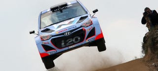 Illustration for article titled Get Some, Hyundai Rally Car