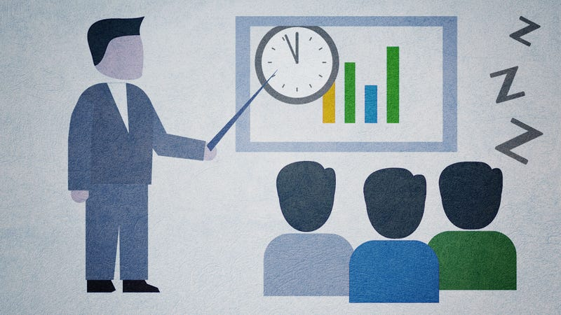 Illustration for article titled How to Stay Focused and Engaged in Long Meetings