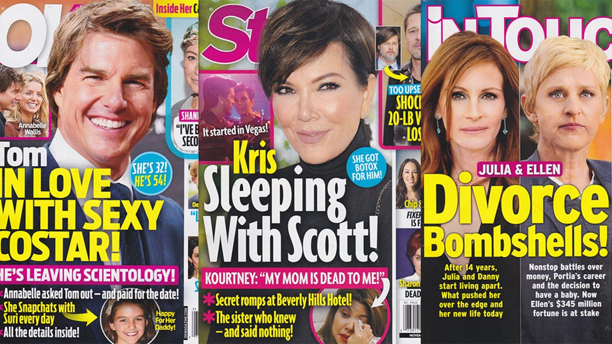 This Week In Tabloids: Kris Jenner and Scott Disick Are Doin' It and