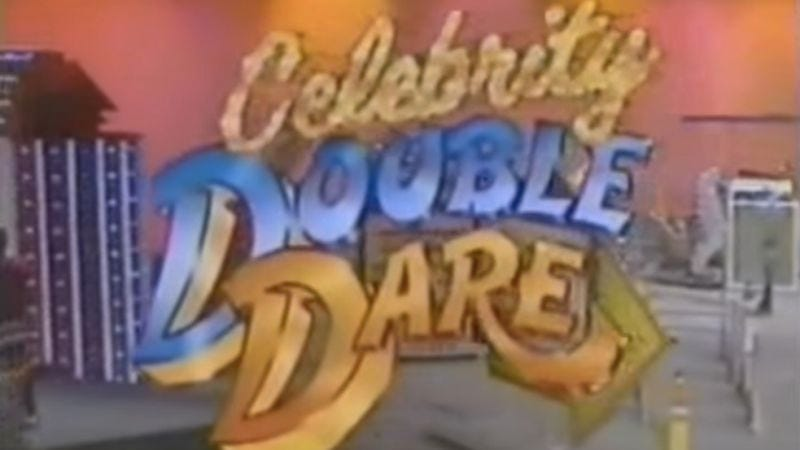 Illustration for article titled Caitlyn Jenner trumped Scott Baio in this unaired Double Dare pilot from 1987