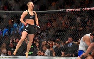 "Illustration for article titled Ronda Rousey Considers Herself An ""Ovarian Goldmine"""