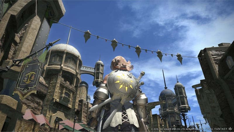 Illustration for article titled Final Fantasy XIV Is So Popular, Square Enix is Halting Sales