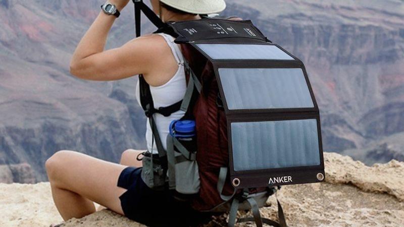 Anker 21W PowerPort Solar, $48 con código BEST2421