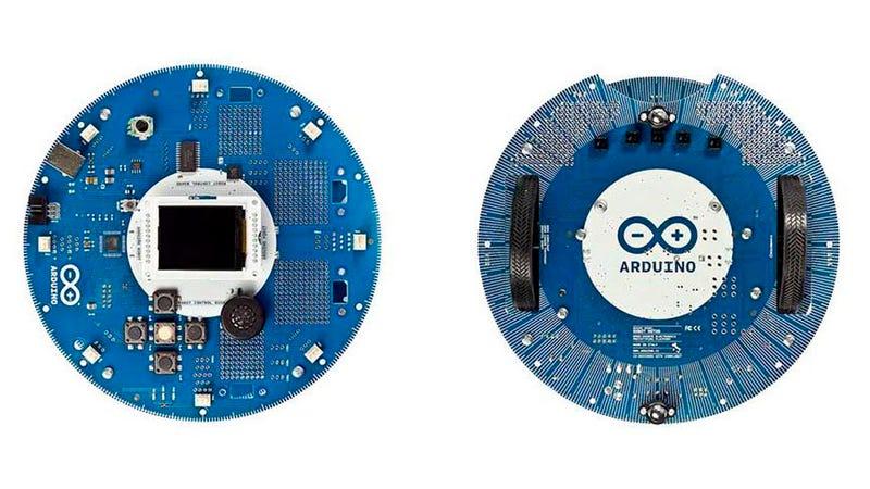 Illustration for article titled Hazte tu propio robot Arduino con este kit
