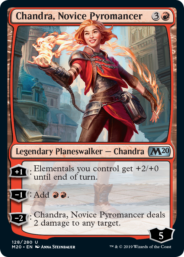 Exclusive: See Three New Chandra Cards From Magic Core Set 2020