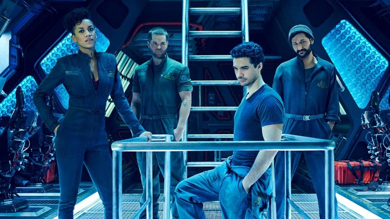 The cast of The Expanse, a show that many people enjoy.