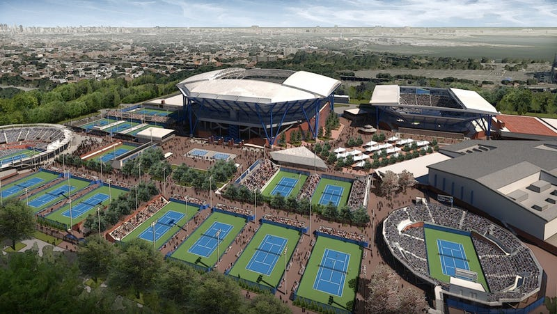 Illustration for article titled Here's The Roof That'll Cover Arthur Ashe Stadium At U.S. Open