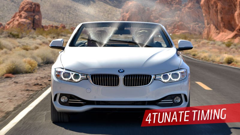 Illustration for article titled The 2014 BMW 4 Series Convertible Is Great But I'm Not Sure I Am