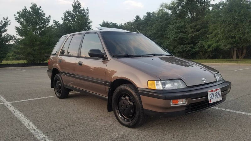 For 5500 Could This 1991 Honda Civic Shuttle Have You Riding High