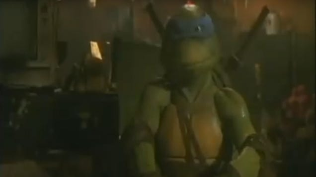 Own a piece of film history with this rotting Teenage Mutant Ninja Turtles corpse