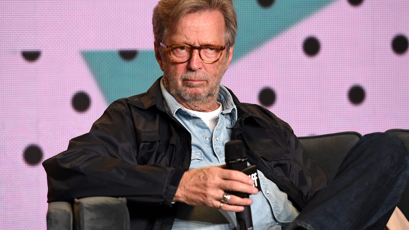 Eric Clapton Whitesplains His Racism. He Even Had a Black Girlfriend
