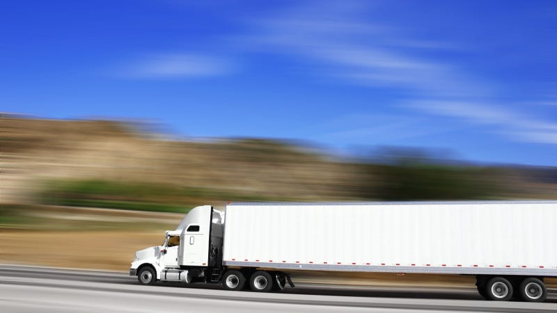 Illustration for article titled Trucking Companies May Say 'Thanks, But No Thanks' To Texas' 85 MPH Speed Limits