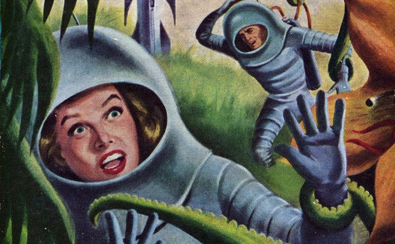 Illustration for article titled Happy 100th Birthday to Leigh Brackett, the Queen of Space Opera!