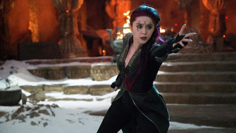 Fan Bingbing as Blink in X-Men: Days Of Future Past (2014)