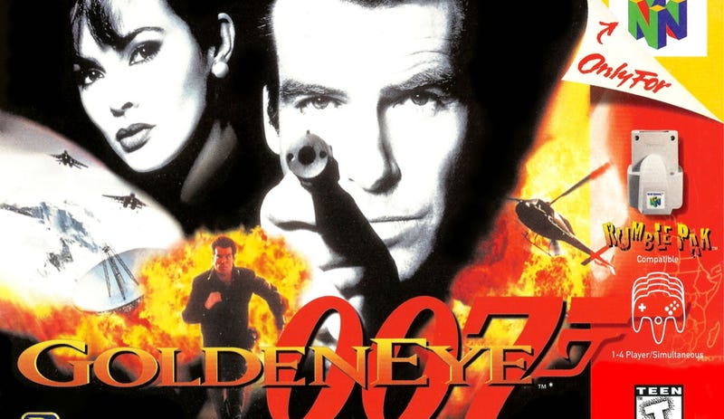 Illustration for article titled Nintendo Wanted GoldenEye To End With You Shaking Everyone's Hands