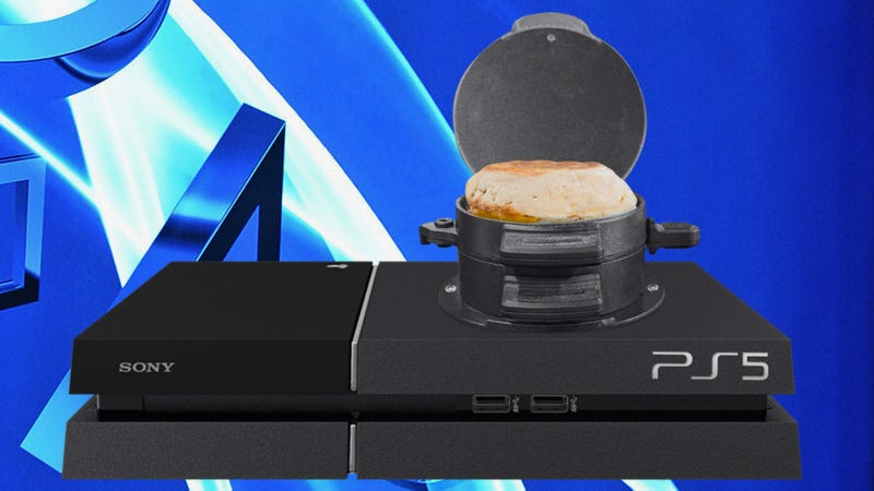 Illustration for article titled Sony Reveals PlayStation 5 Will Feature Fully Functioning Breakfast Sandwich Maker