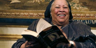 Nobel Prize-winning author Toni Morrison (Patrick Kovarik/AFP/Getty Images)