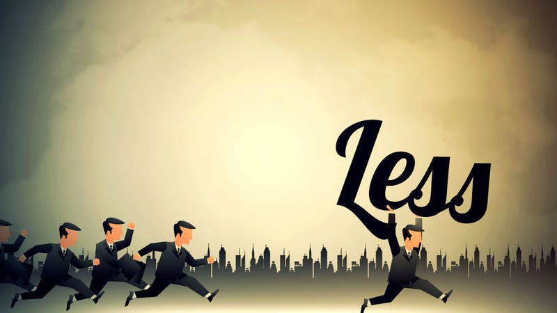 Illustration for article titled The Disciplined Pursuit of Less
