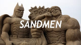 Illustration for article titled 11 Splendid Sand Sculptures Made For the Movie Geek
