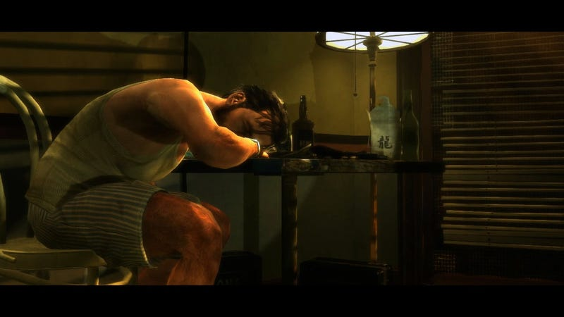 Illustration for article titled Max Payne 3's Road to Revenge Starts With A Kidnapped Trophy Wife and Lots of Booze