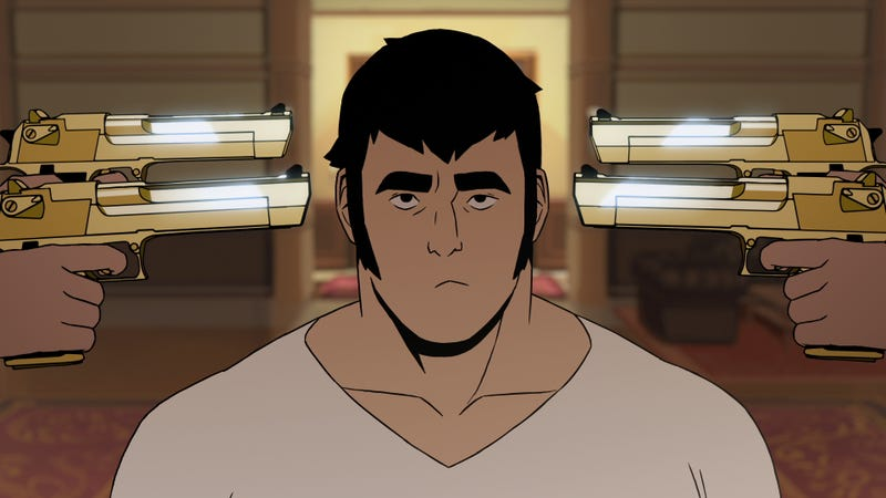Adult Action Cartoon LastMan Has Loads Of Style But Way Too Much