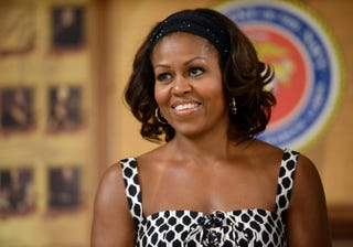 First lady Michelle Obama JEWEL SAMAD/AFP/Getty Images