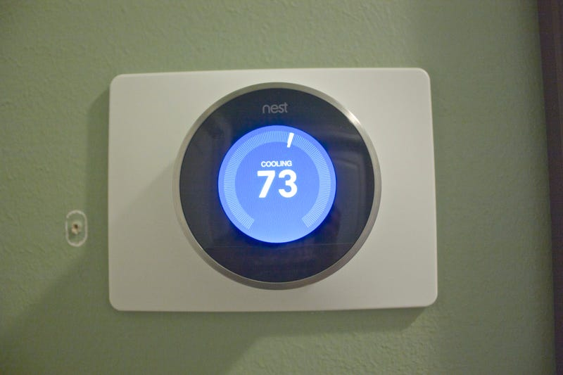 "Illustration for article titled We got one of those ""Nest"" thermostats."