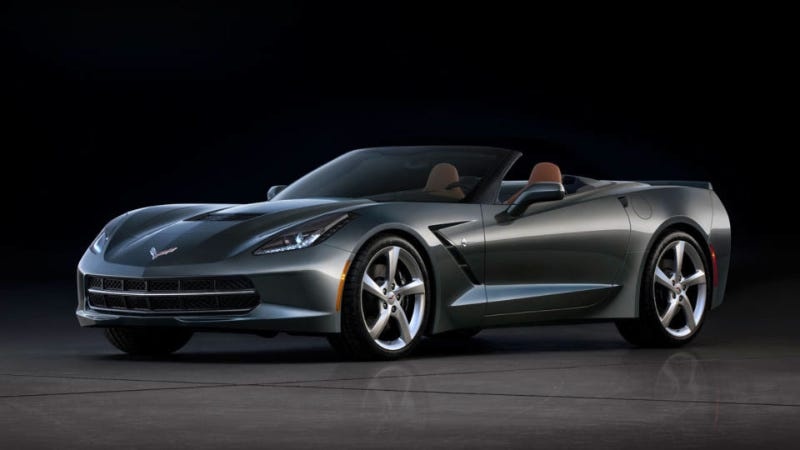 Illustration for article titled The 2014 Corvette Convertible: This Is It