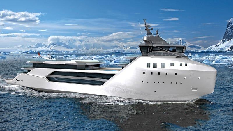 Solo hacen falta 62 millones de dólares para convertir un buque de carga en un yate de lujo