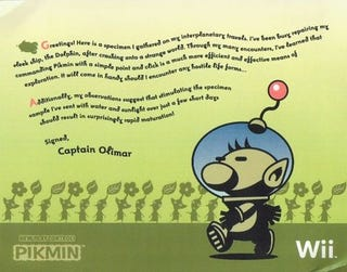 Illustration for article titled Nintendo Teases Pikmin Wii With a Plant