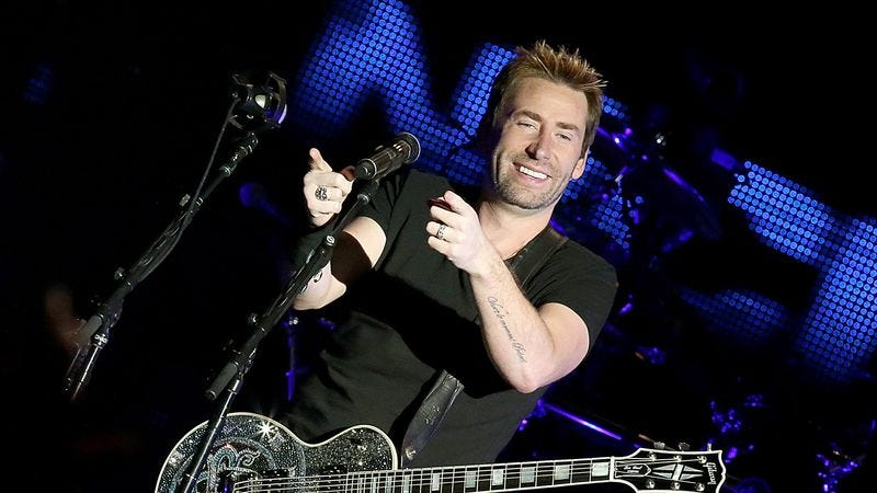 Nickelback's Chad Kroeger (Photo: Gary Miller/Getty Images)