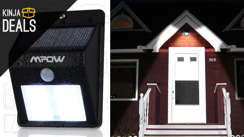 Add This Solar-Powered Porch Light To Your Home For Just $12