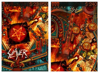 Illustration for article titled Slayer Pinball Shows No Mercy On iPhone Today