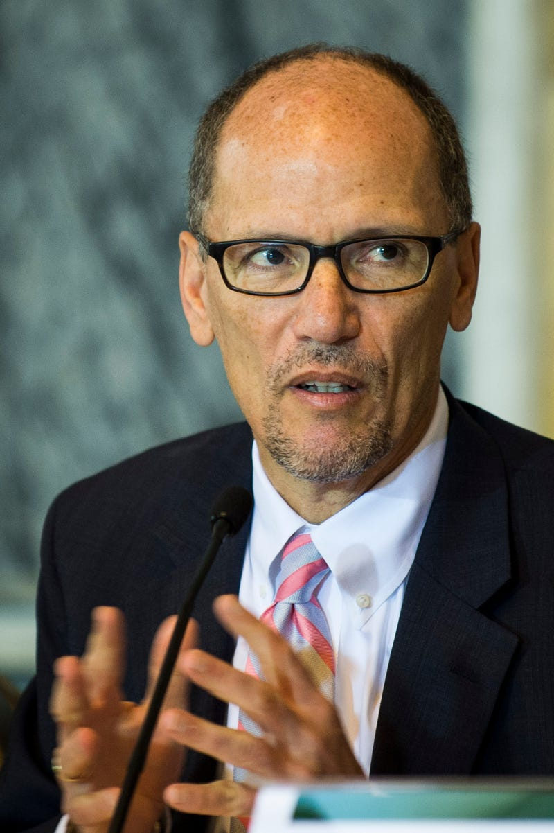 U.S. Department of Labor Secretary Thomas Perez Pete Marovich/Getty Images