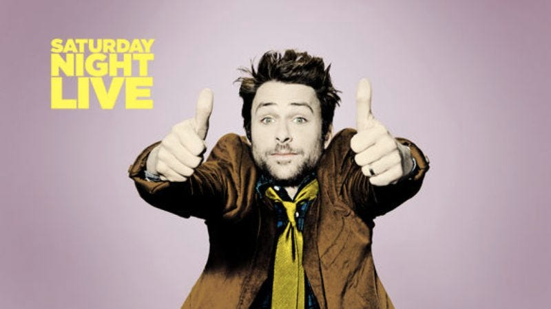 "Illustration for article titled Saturday Night Live: ""Charlie Day/Maroon 5"""