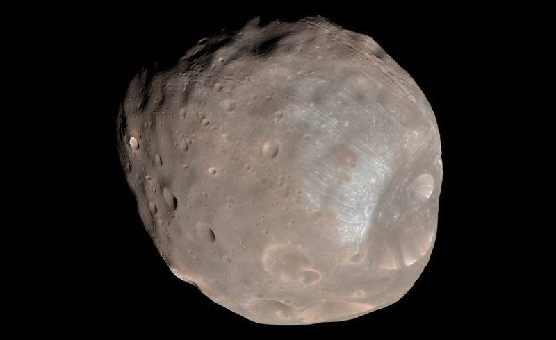 Phobos, beloved by no one. Image: Wikimedia