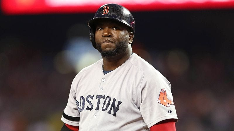 Illustration for article titled Curious David Ortiz Wondering What Happens To Players After They Retire