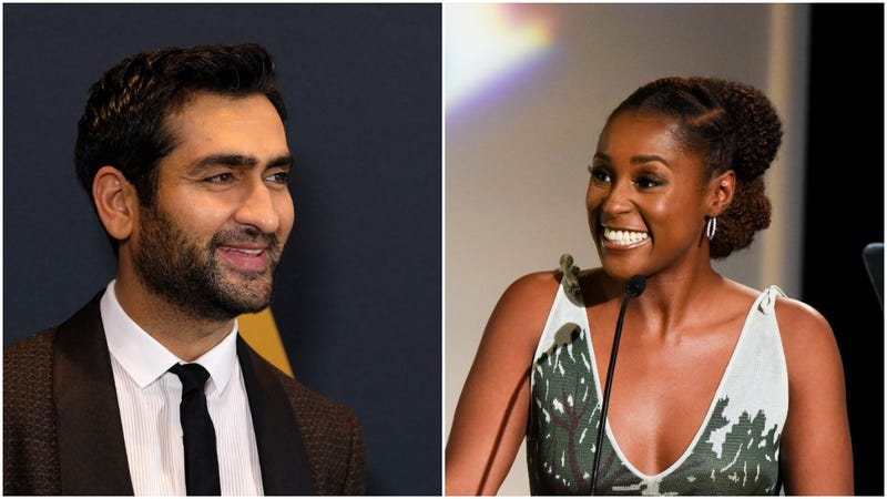 Illustration for article titled Kumail Nanjiani and Issa Rae are doing the rom-com thing, and we're pretty here for it
