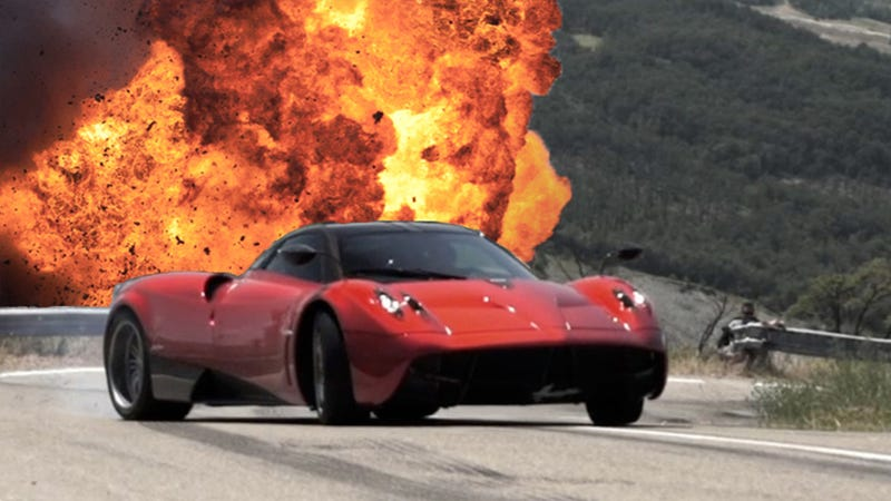 Illustration for article titled Did The Pagani Huayra Cheat To Set Its Record Lap Time On Top Gear? (UPDATED: Pagani Responds)