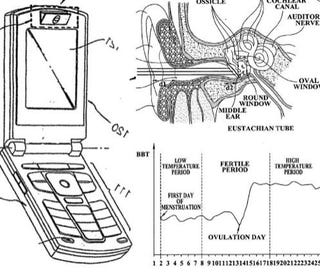 Illustration for article titled Samsung Files Patent for Safe (ie Non-Baby) Sex Cell Phone