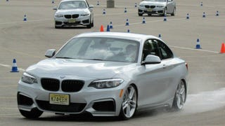 Illustration for article titled BMW's Free Ultimate Driving Experience Is Better Than Some Track Days